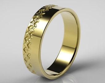 Mens gold rings Etsy