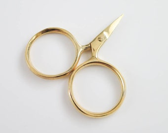 Embroidery Scissors | Sewing Scissors, Thread Snips, Cute Scissor for Embroidery, Cross Stitch, Quilting - Seaton (Kelmscott Designs)