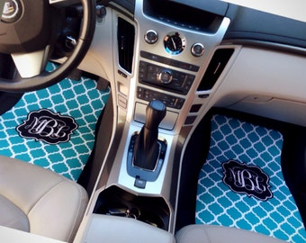 Car Coaster Monogrammed Car Accessories For Women