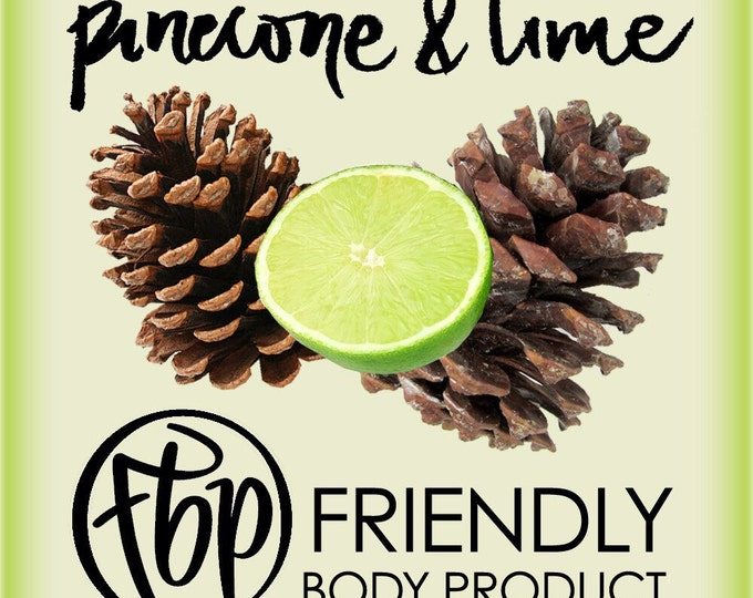 Soy Candle - Pinecone Lime Candle