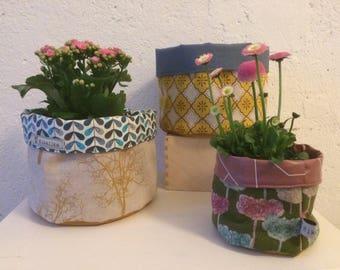 Utensilo/Plant Basket/Bathroom utensil holder/Korb (large)