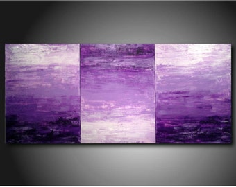 original art abstract Painting modern Purple painting JMJstudio fathers day gift