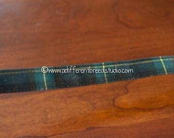 3 yards Plaid Belting- Vintage Trim 70s 80s New Old Stock Fun Belt