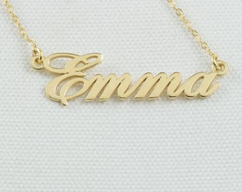 Name necklace, Custom name necklace, Personalized necklace, Personal necklace, My name necklace, Custom necklace, DMN8219