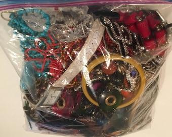 Jewelry Lot ~ Vintage to Newer ~ Treasure Hunt!