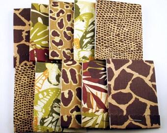 10 Matchbook Notepads Matchbook Party Favors in  Jungle Fever