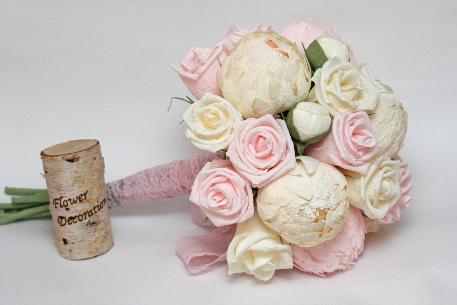 Wedding bouquet paper flower bouquet bridesmaids bouquets zoom izmirmasajfo