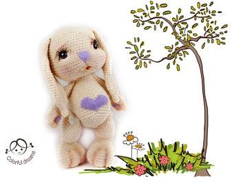 """Crochet pattern """" Bunny Letta"""""""