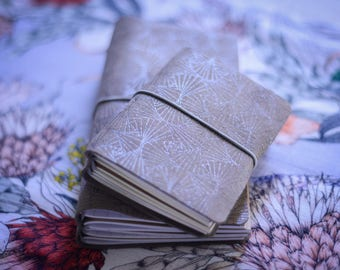 Traveler's Notebook - Shimmer Fan - Leather - Notebook - Journal - Planner