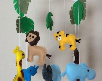 Baby mobile animals,elephant crib mobile,baby mobile elephant ,elephant mobile, nursery mobile,girl nursery mobile,elephant mobile,mobile
