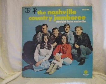 The Nashville Country Jamboree Straight from Nashville Record LP Album