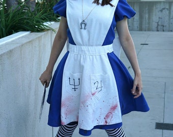 Custom American McGee's Alice Cosplay Costume