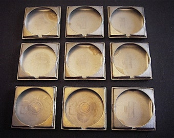 Vintage Antique Watch parts cases backs- Steampunk - Scrapbooking p4