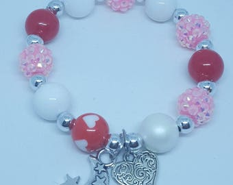I Love You to the Moon and Stars bracelet