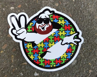 Ecto Crank (Autism Awareness) Variant Sticker