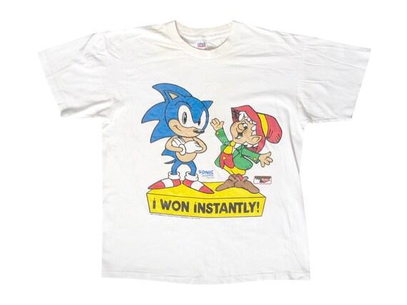 Sonic The Hedgehog & Keebler Elf I Won Instantly T-Shirt