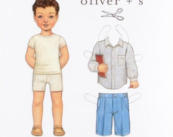 Oliver + S Sketchbook Shirt and Shorts Pattern