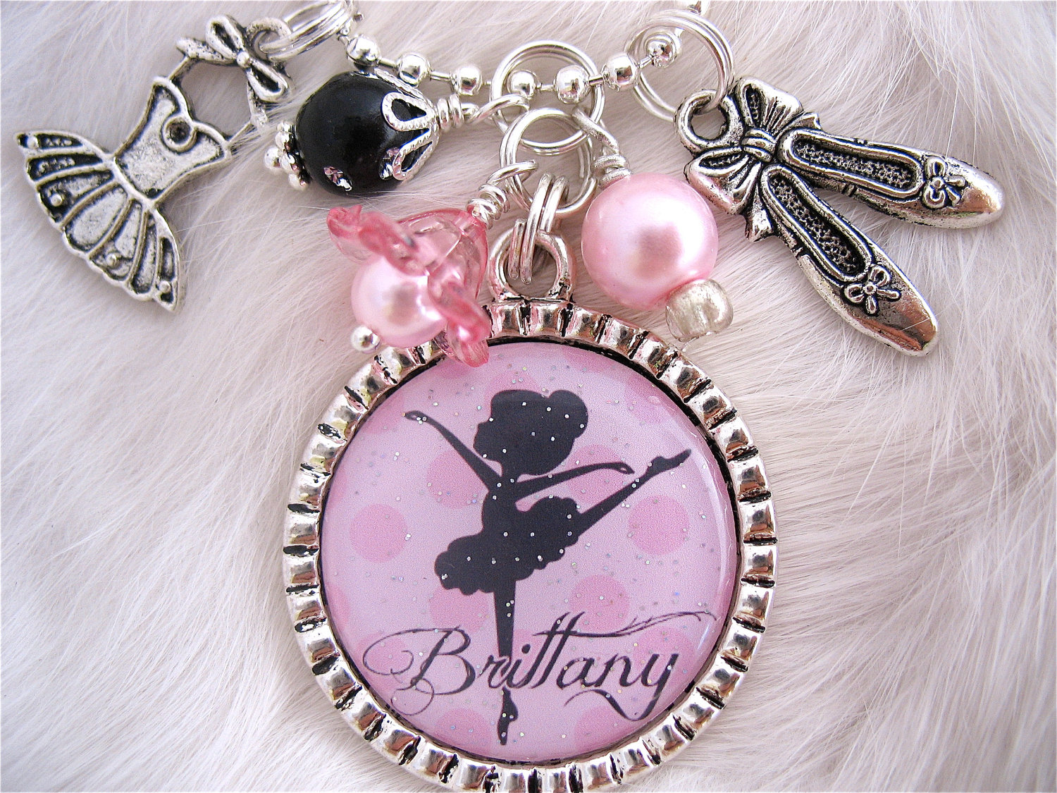 CHILDRENS BALLET JewelryPersonalized Ballet Necklace