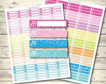 Credit Card Payment Stickers Set, printable Erin Condren planner stickers ,Credit Card Bill Payment, eclp, Mambi  Pdf + Jpg