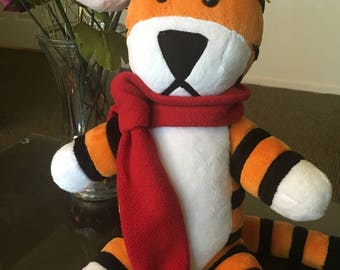 Hobbes Plush PDF Pattern