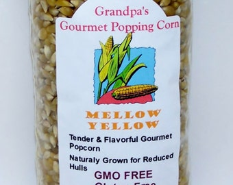 No Toothpick needed, really,  Our newest variety of Virtually Hulless popcorn.