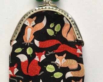 Coin purse Fox