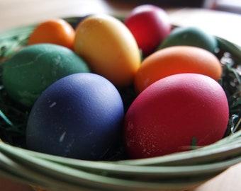 Easter Eggs in a basket (Digital Download)