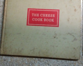 Vintage 1942 Kraft Cheese Co. The Cheese Cook Book Recipe Collection. Free Domestic Shipping