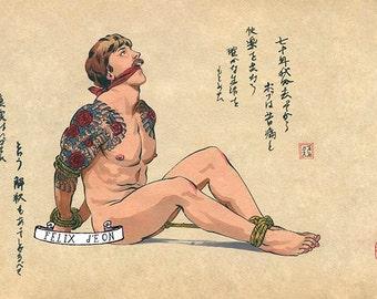 Gay bondage drawings plance for stuff
