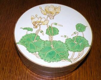 Charming OTAGIRI Round Lacquerware Trinket Box