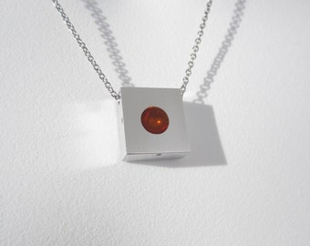 Contemporary Sphere Necklace