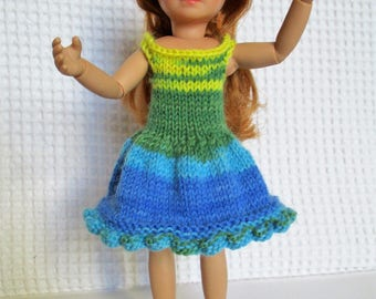 Dress Kruselings of Käthe Kruse, 23cm doll.