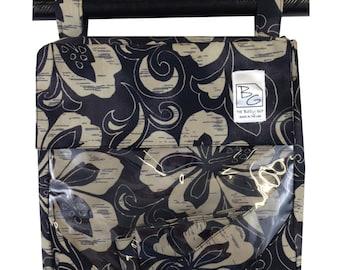Black Hibiscus 3 Hour Bag