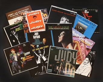 Judy Garland Vinyl Album Collection with Bonus Liza Minelli Albums