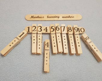 kids learning,learn numbers,preschool learning,home learning,children garden,self-study,self-development,clothespins,personalized gift,gifts