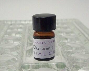 Blue Chamomile Essential Oil - German Chamomile - Chamomilla Recutita