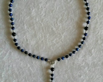 Rosary with Sterling Silver Crucifix