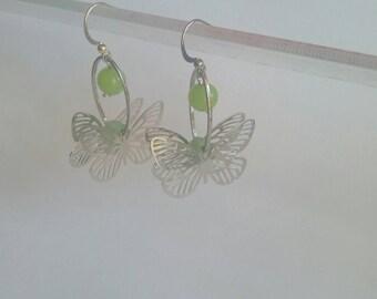 "beautiful earrings ""Crown boreal 51"""