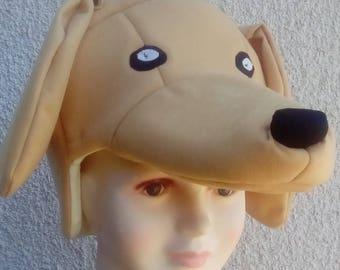 Golden retriever- Dog headpiece