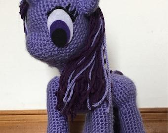 Custom Crochet My Little Pony doll