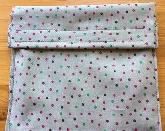 Reusable Sandwich Bag - Polka Dots