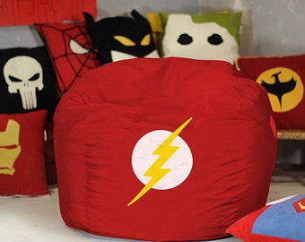 Superhero Handmade Pillow Cover Superhero Cushion Superhero