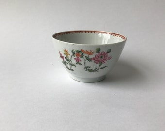 A Hand Painted Tea Bowl