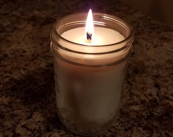 Soy Wax Mason Jar Candle