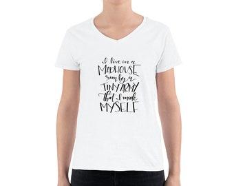Mom Life Tshirt / I Live in a Madhouse Tshirt / Momma Shirt / Mom Tshirt / Tshirts for Moms / Madhouse Mom Shirt / THW326