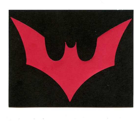 Batman Beyond Logo Scrapbook Die Cut