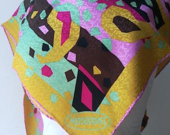 Missoni, silk scarf