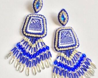Willow Blue earrings