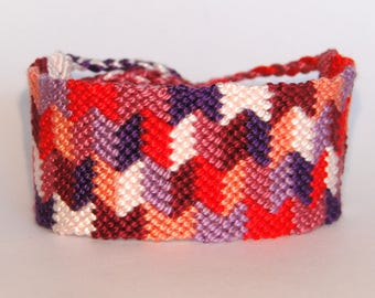 Friendship bracelet - macrame hippie beachwear ibiza tribal mochila gypsy boho bohemian braided surfer wayuu