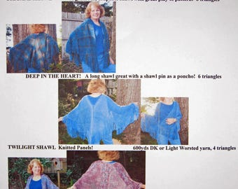 """Triangle Shawls """"Easy as 123 and Beyond""""  Weaving Pattern"""